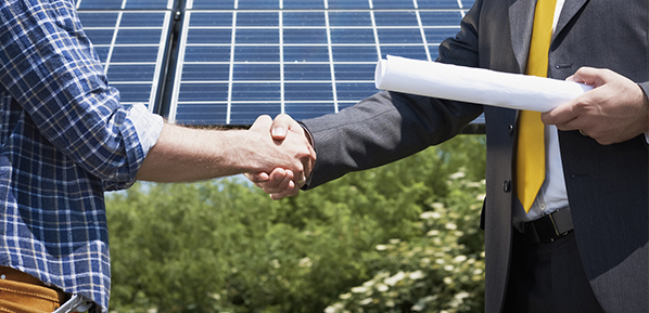 Buying photovoltaic parks energy