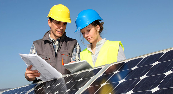 Commercial operations of photovoltaic parks