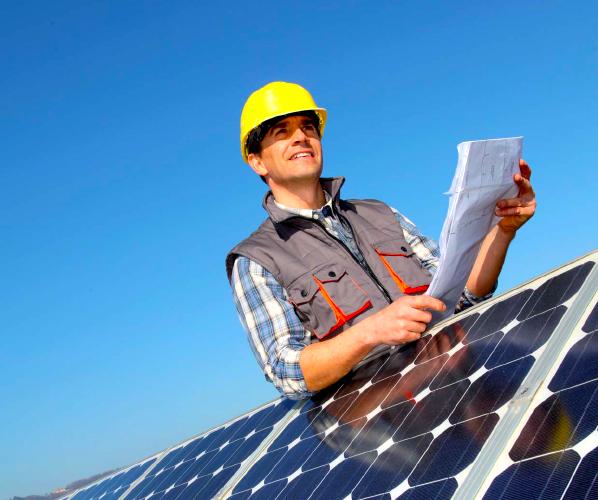 Photovoltaic park maintenance